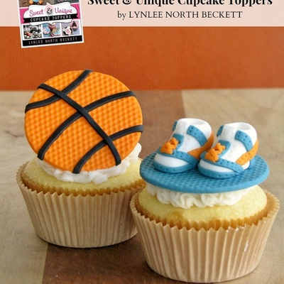 Nothing But Net: A Basketball Cupcake Topper in 7 Easy Steps on Cake Central
