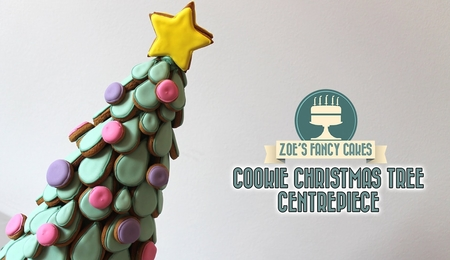 Christmas Tree Cookie Centerpiece