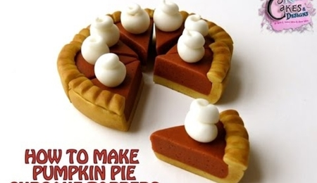 How To Make Pumpkin Pie Cupcake Toppers