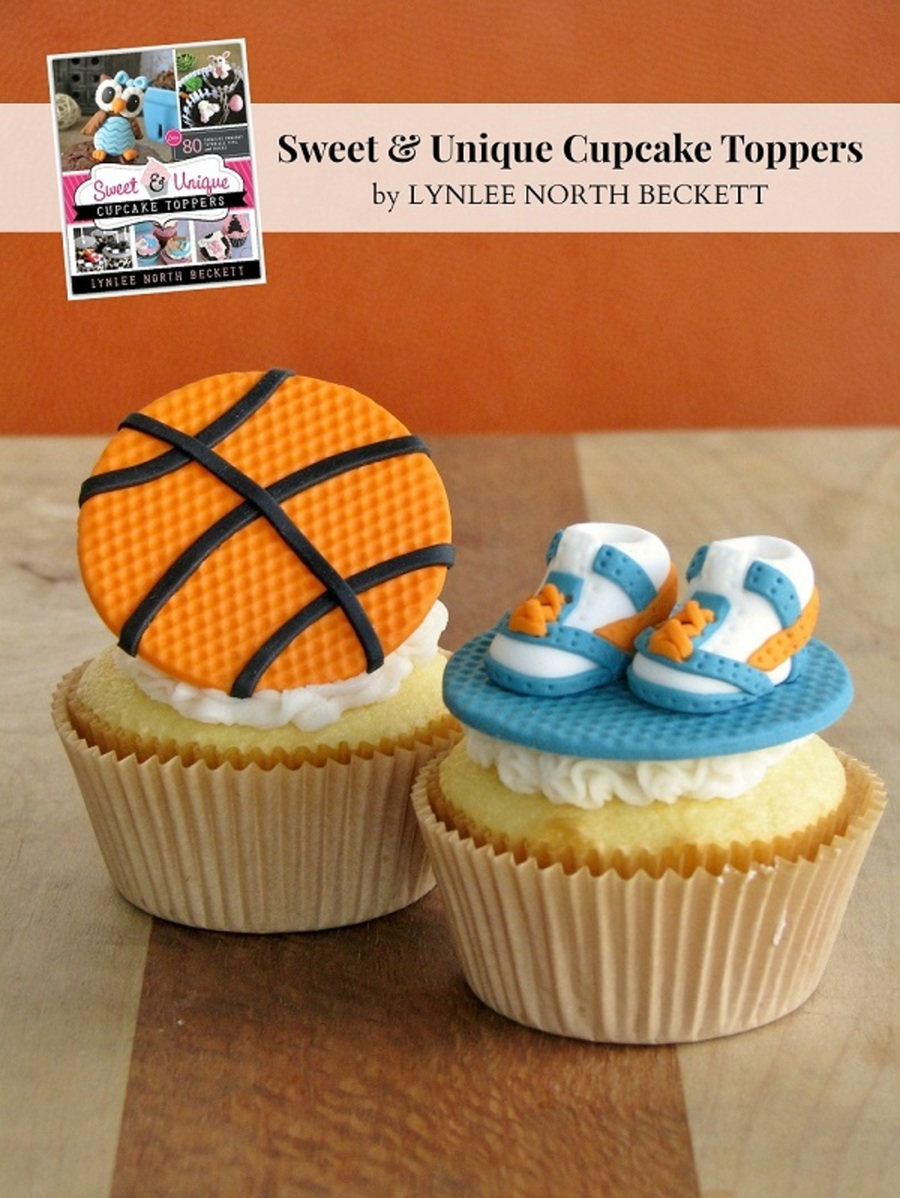 Nothing But Net A Basketball Cupcake Topper In 7 Easy