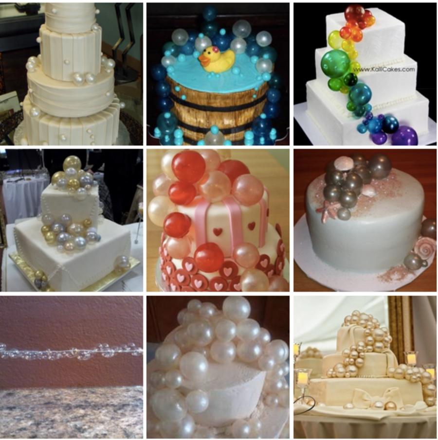 Top Gelatin Bubble Cakes
