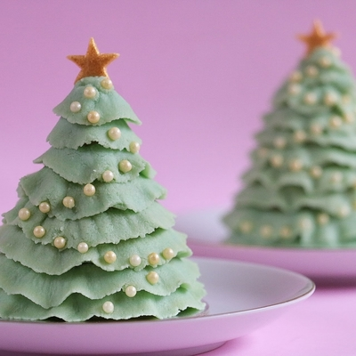 Christmas Tree Cake Pop on Cake Central
