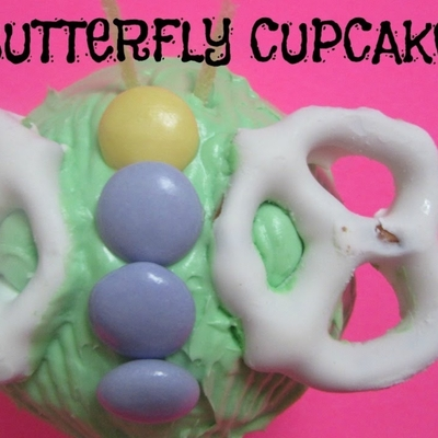 Kids Project: Butterfly Cupcakes on Cake Central