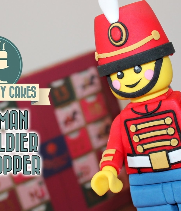 Lego Cake Topper Toy Soldier Tutorial