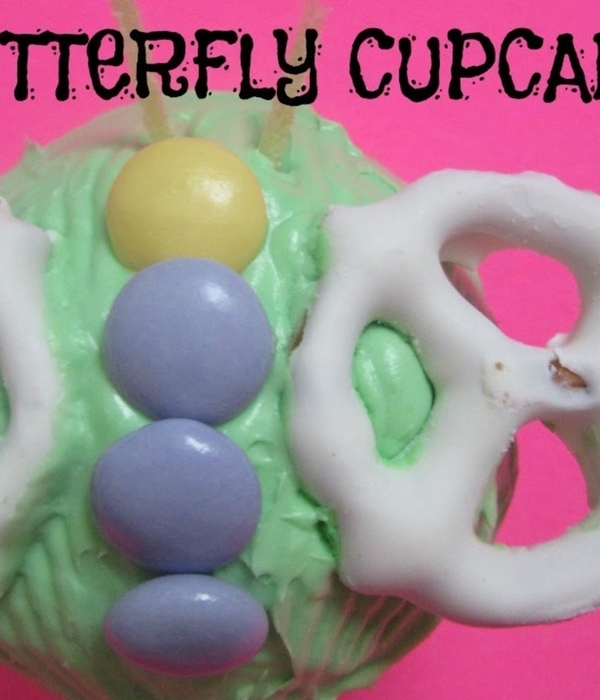 Kids Project: Butterfly Cupcakes