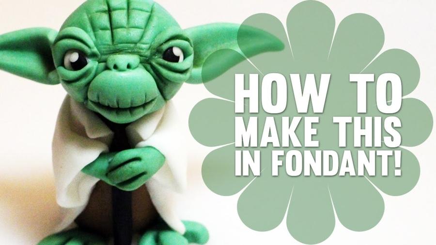 Fondant Yoda Figure Cakecentral Com