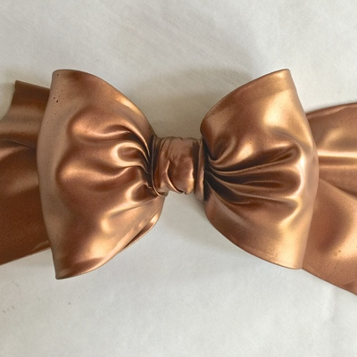 Metallic Satin SugarVeil® Icing Bow Tutorial on Cake Central