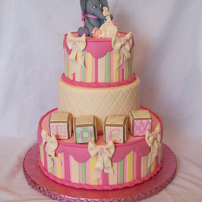 Top Baby Blocks Cakes on Cake Central