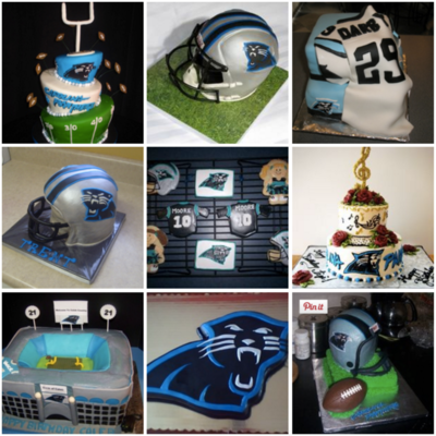 Top Carolina Panthers Cakes on Cake Central