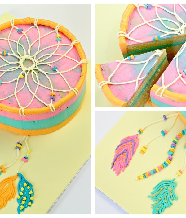 Dreamcatcher Cake Tutorial