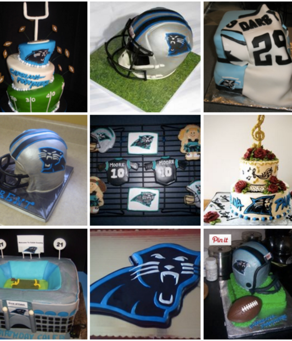 Top Carolina Panthers Cakes