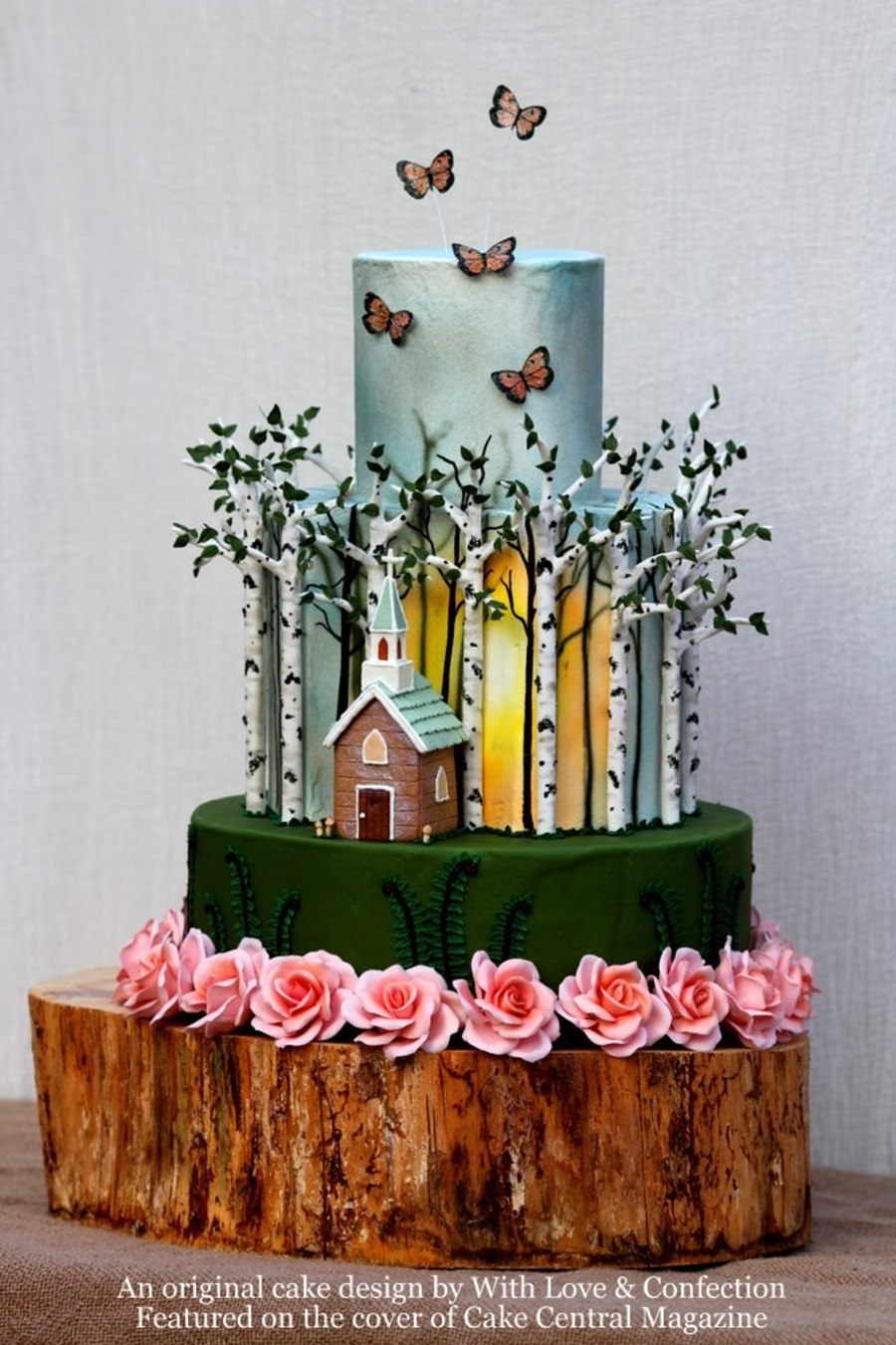 Top Birch Tree Cakes Cakecentral Com