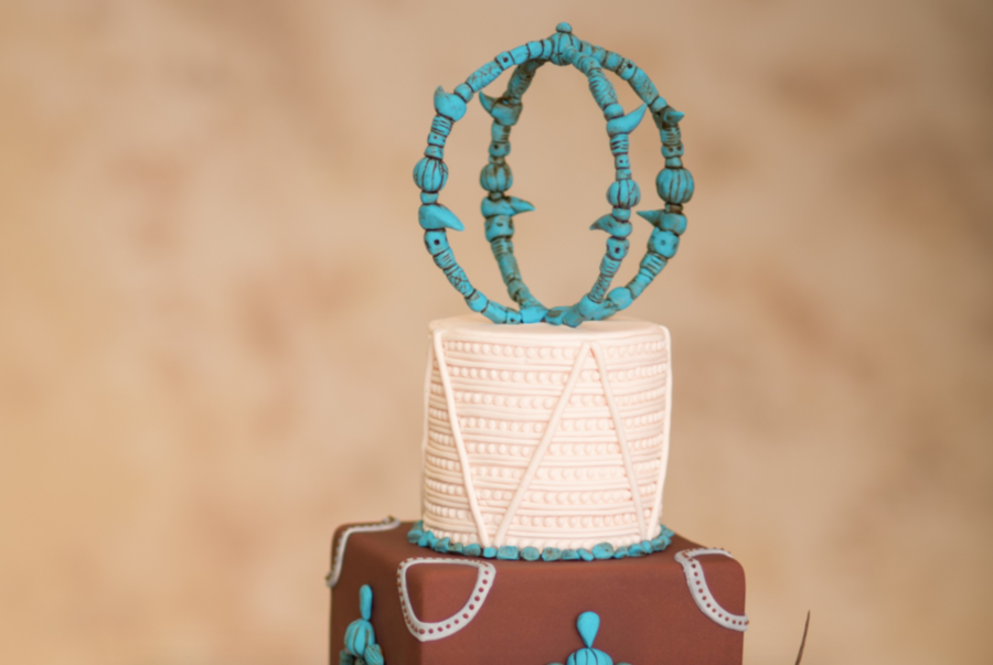 Turquoise Sphere Cake Topper Tutorial CakeCentralcom - Sphere Wedding Cake