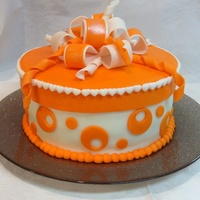 Fondant Stripes - CakeCentral.com