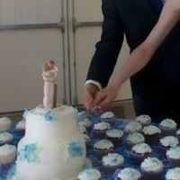 Cake Decorator Plus1Weddings