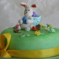 Cake Decorator  Easter Bunny