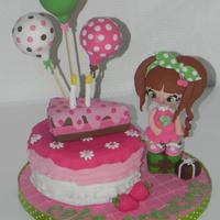 Cake Decorator cake creation
