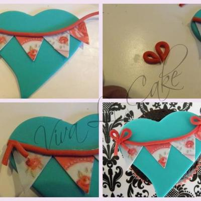 5 Different Valentine Cake Cookie Cupcake Toppers on Cake Central