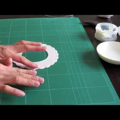 How to Make Fondant Frills on Cake Central