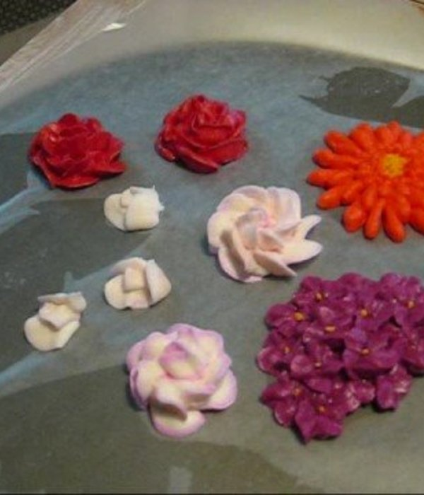 Royal Icing Flowers Tutorial: How to make Hydrangeas,...