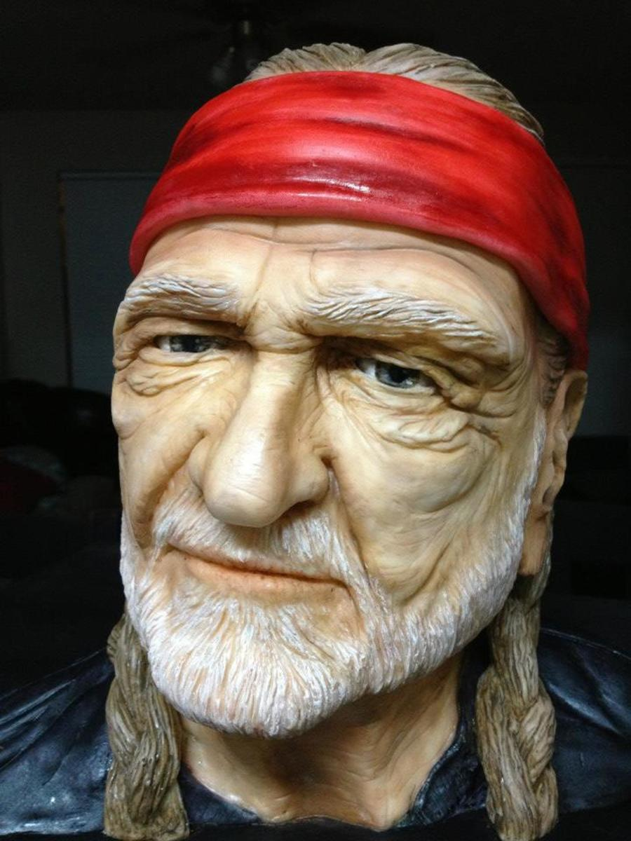Realistic Willie Nelson Cake Cakecentral Com