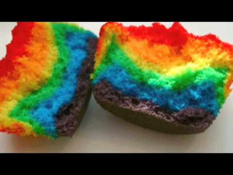 How To Make A Marble Cake With Food Coloring