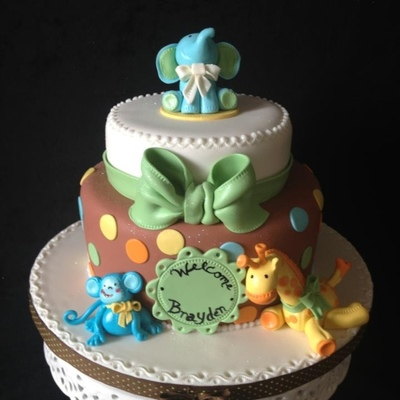 Top 9 Baby Animal Cakes on Cake Central