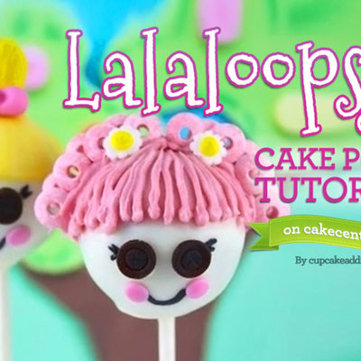 Lalaloopsy Cake Pops Tutorial! on Cake Central