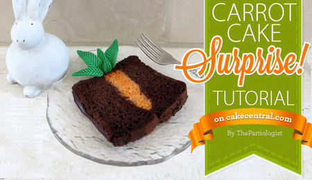How to Bake and Decorate a Surprise Carrot Cake