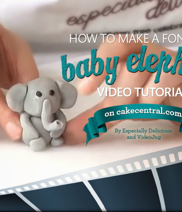 How To Create a Fondant Elephant