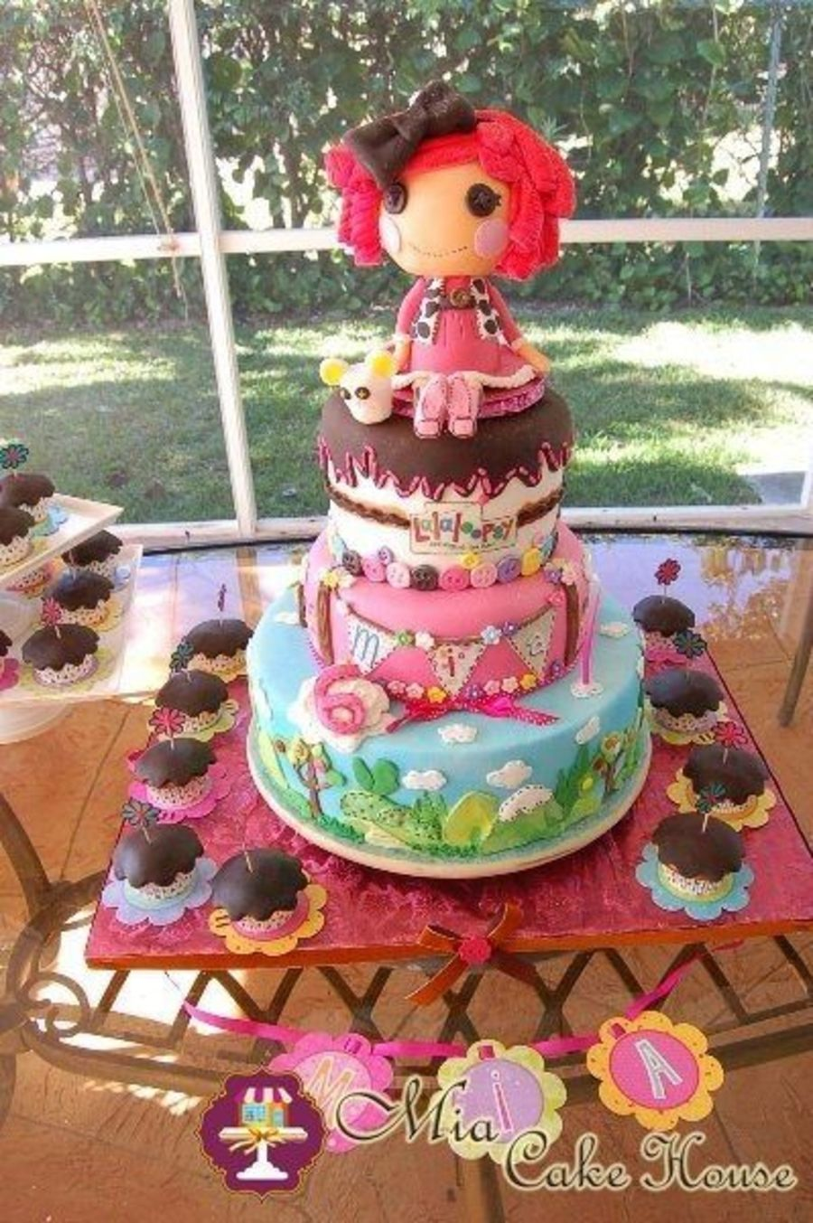 Lalaloopsy Cakes Cookies And Cake Pops Cakecentral Com