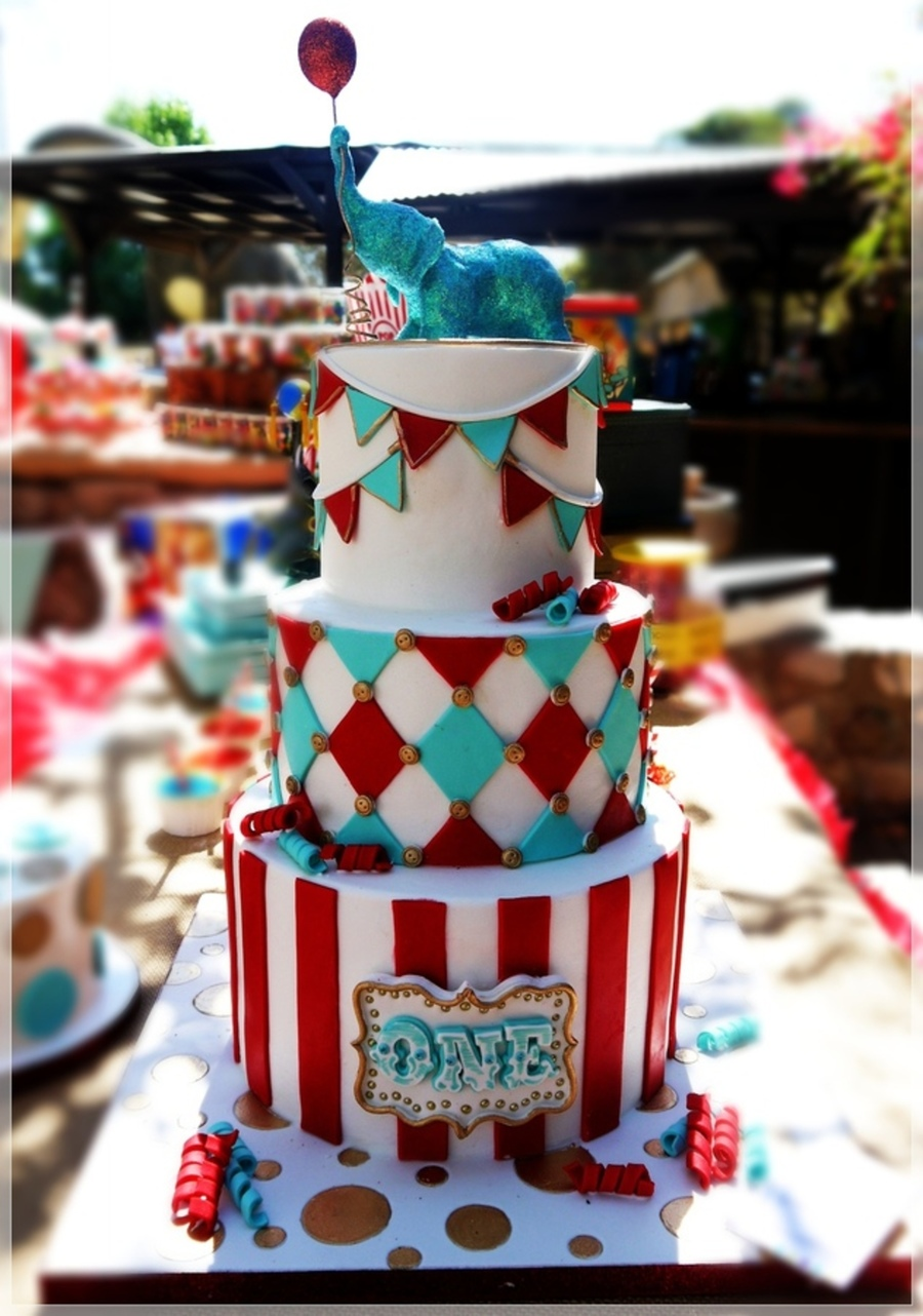 Top 9 Circus Amp Zoo Themed Cakes Cakecentral Com