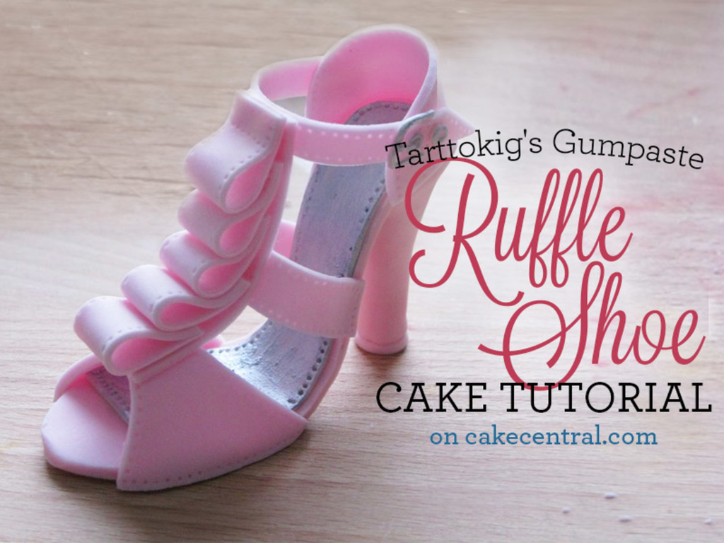 Louis vuitton high heel shoe cakecentral. Com.