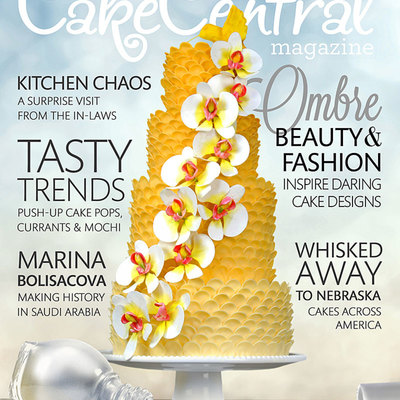 Volume 4 Issue 4 - It's All About Ombre! on Cake Central