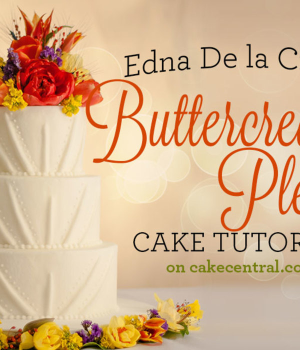Edna De la Cruz's Buttercream Pleats Tutorial