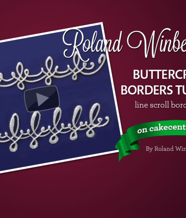 Roland Winbeckler's Buttercream Line Scroll Border...