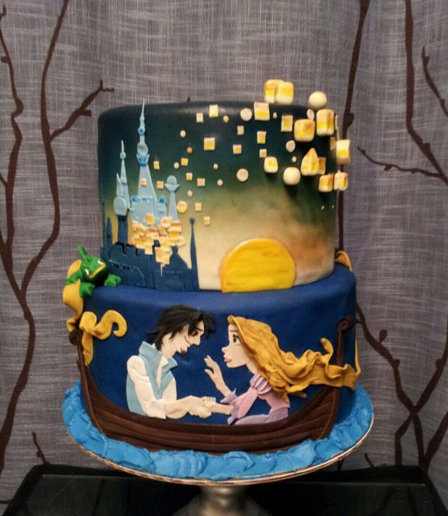 Rapunzel Cake Decor : Top Tangled Cakes Photo Gallery - CakeCentral.com