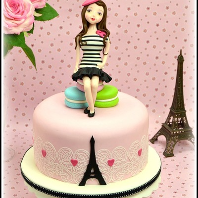 La Petite Parisienne Cake Tutorial on Cake Central