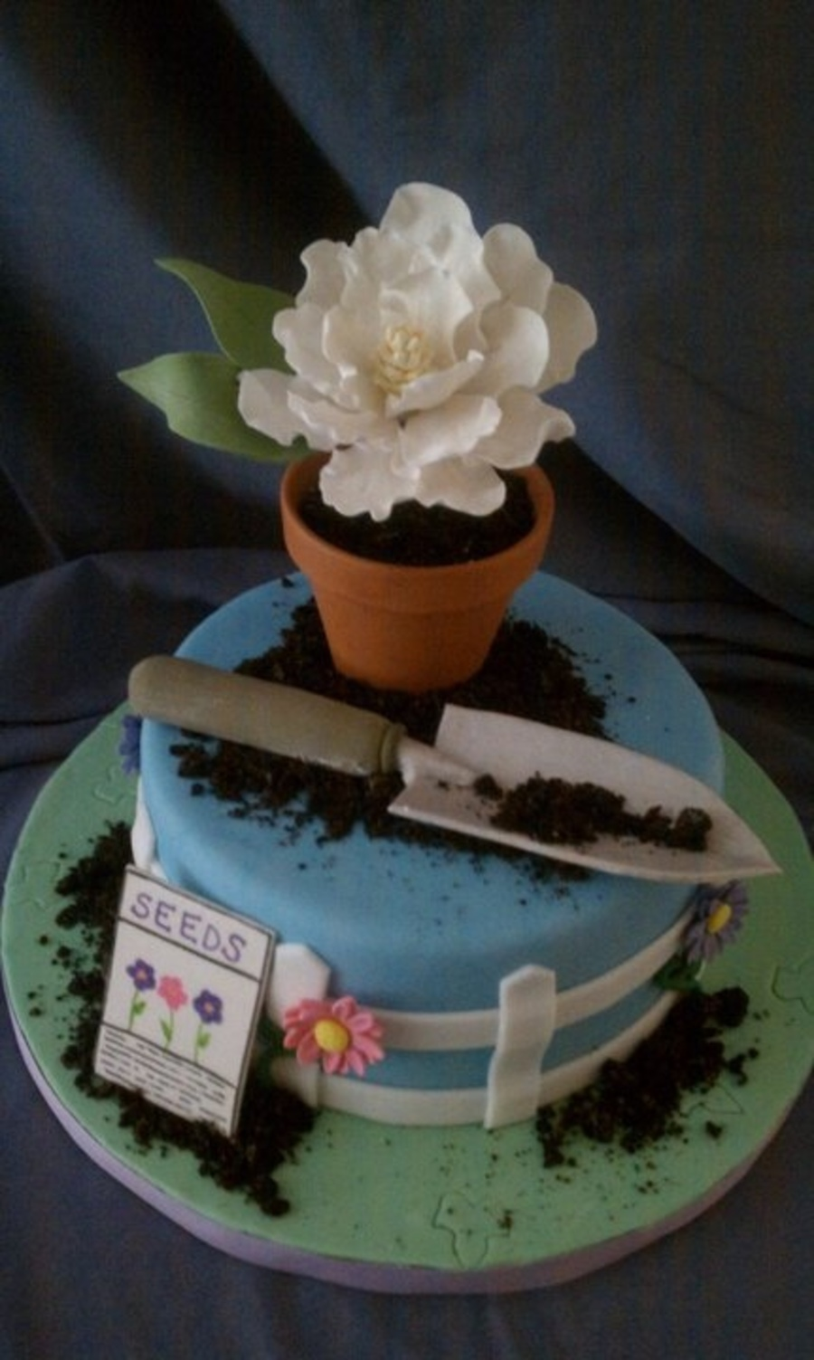 best blooming garden cakes