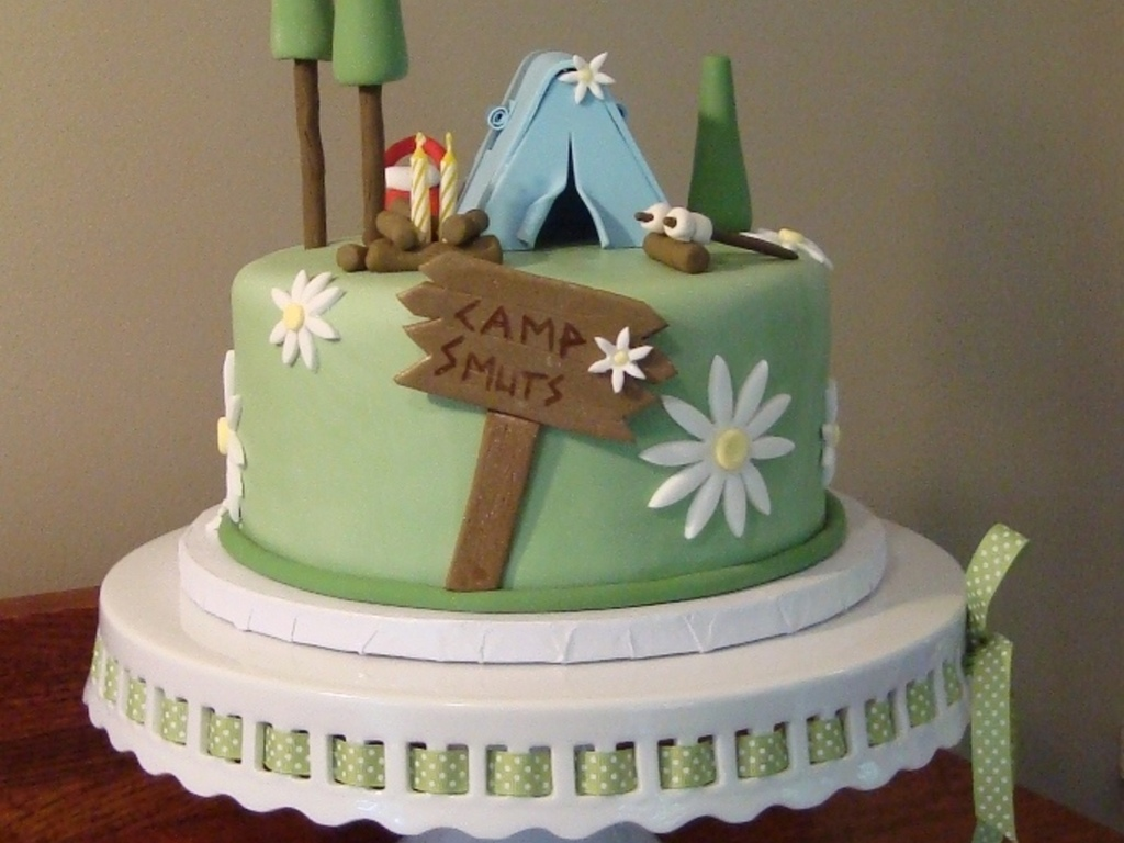 Top Camping Cakes CakeCentralcom