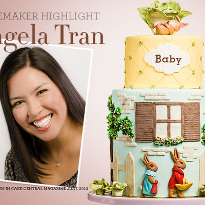Cakemaker Highlight: Angela Tran on Cake Central
