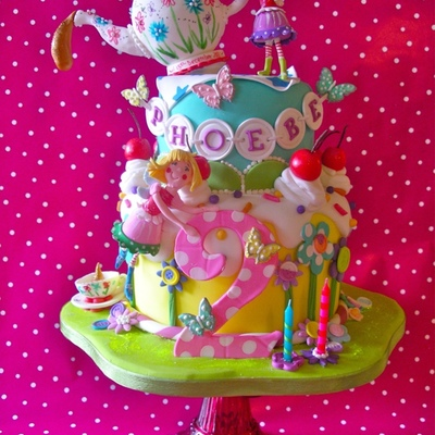Top Fairy Cakes on Cake Central