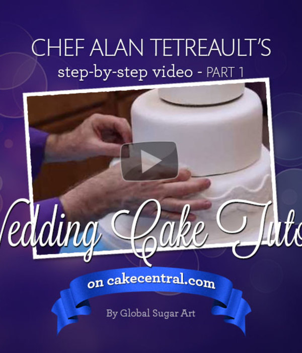 How to make your own wedding cake by Chef Alan Tetreault of...