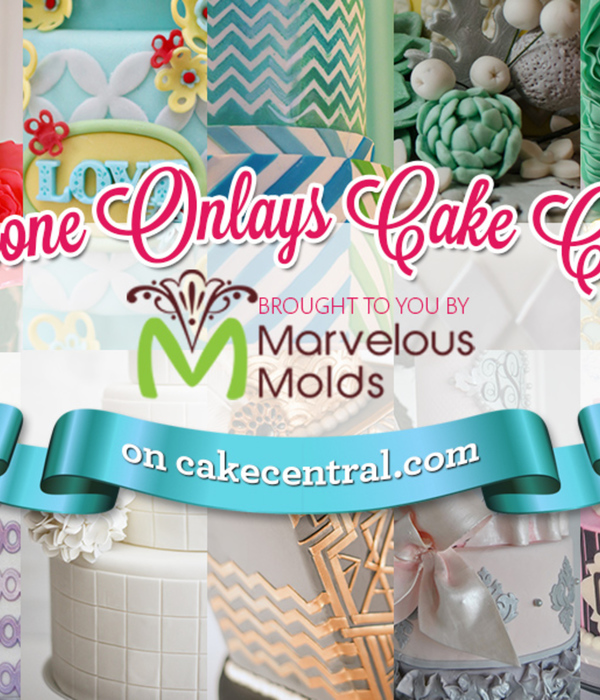 Marvelous Molds Silicone Onlays Cake Contest