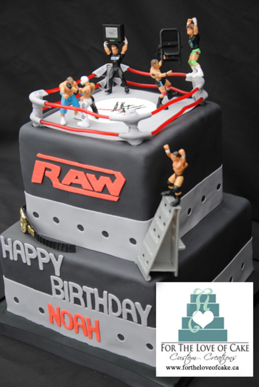 Wrestling Cakes On Cake Central