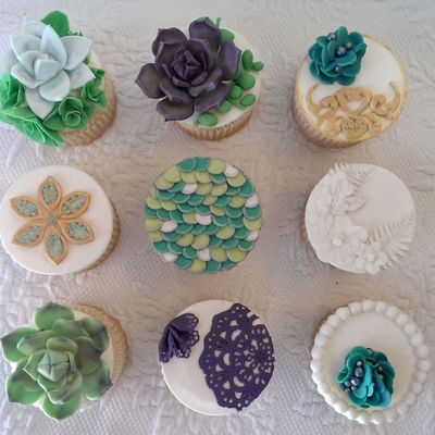 Succulent Cupcake Inspiration Challenge Winner! on Cake Central