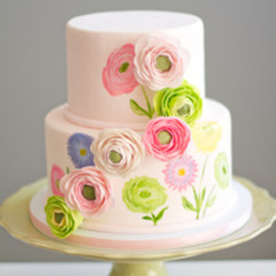 Multi-dimensional Sugarwork Cake Tutorial on Cake Central