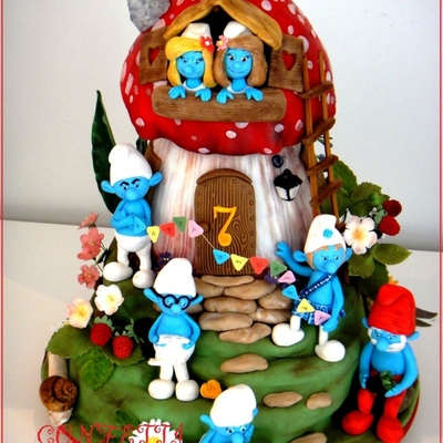 Top Smurfs Cakes on Cake Central