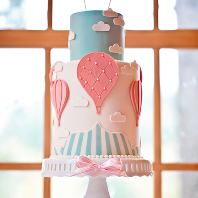 Sketch to Cake: Jessica Harris' Hot Air Balloon Cake on Cake Central