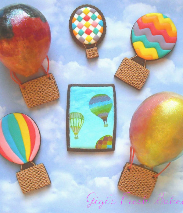 Hot Air Balloon Sweet Treat Inspiration Challenge Winner